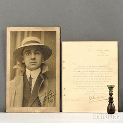 Varges, Ariel Lowe (1890-1972) Archive.