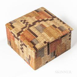 Weiner Werkstatte Embossed Paper Box