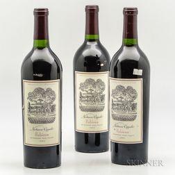 Niebaum Coppola Rubicon 1995, 3 bottles