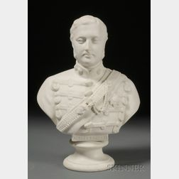 Brown-Westhead, Moore & Co. Parian Bust of Edward, Prince of Wales