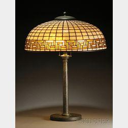 Bigelow & Kennard Greek Key Table Lamp