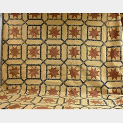 Cotton Patchwork Calico Star Quilt