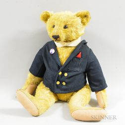 Large Steiff Mohair Teddy Bear