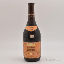 Granduca Barolo Riserva Speciale Cantine Duca dAsti 1971, 1 bottle