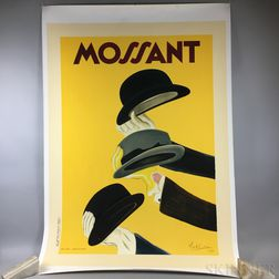 "Collotype of a Cappiello ""Mossant"" Poster"
