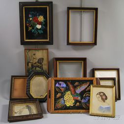 Eleven Framed Items