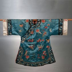 Lady's Embroidered Informal Robe