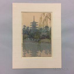 Hiroshi Yoshida (1876-1950), Sarusawa Pond