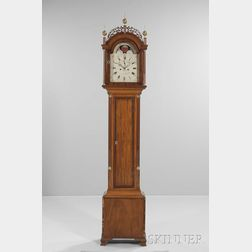 Maurice O'Connell Inlaid Mahogany Tall Clock
