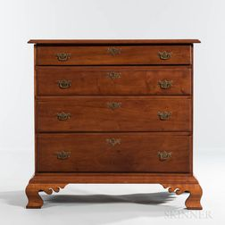 Cherry Chest of Four Drawers