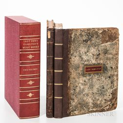 Lady Emma Hamilton's Music Books