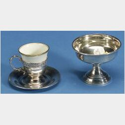 Three Boxed Sets of American Sterling Tablewares