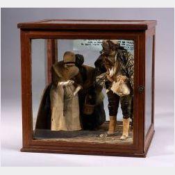 Early American Figural  Diorama