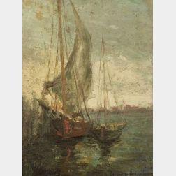 Jeanette Agnew Lyon (American, b. 1862)  Harbor View