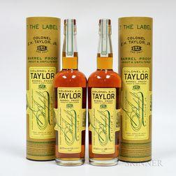 Colonel EH Taylor Barrel Proof, 2 750ml bottles (ot)