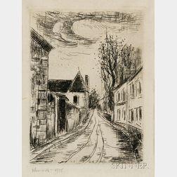 Maurice de Vlaminck (French, 1876-1958)      Frontispiece