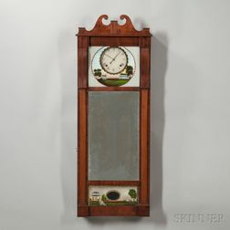 Joseph Ives Patent Looking Glass Clock
