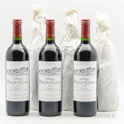Chateau Pontet Canet 2003, 6 bottles