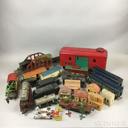 Large Group Lionel Trains and Accessories