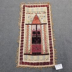 Ottoman Composite Wall Hanging Prayer Rug