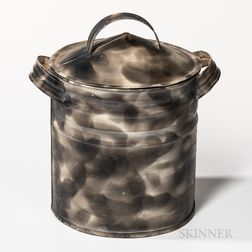 Small Smoke-decorated Canister