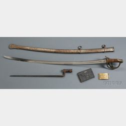 Group of Civil War Material