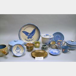 Approximately Seventy-five Pieces of Dorchester Pottery Decorated Tableware.