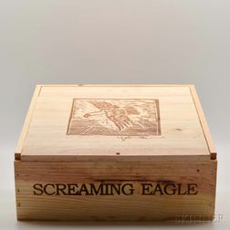 Screaming Eagle 2001, 3 bottles (owc)