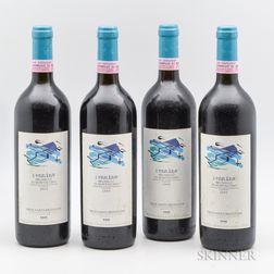 Gaja (Pieve Santa Restituta) Brunello di Montalcino Rennina 1995, 4 bottles