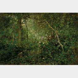 George Inness Jr. (American, 1854-1926)      Shadow
