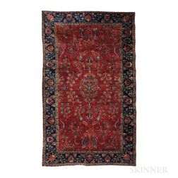 """Manchester"" Kashan Carpet"