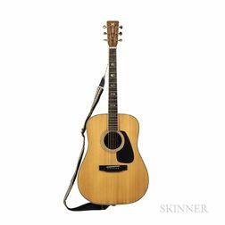 Morris MD-525 Acoustic Guitar, c. 1985