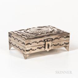 Contemporary Silver Box