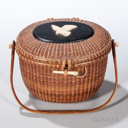 Nantucket Friendship Basket Purse