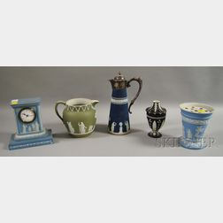 Five Wedgwood Jasperware Items