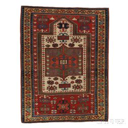 """Fachralo"" Kazak Prayer Rug"