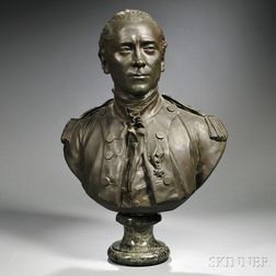 Bronze Bust of John Paul Jones
