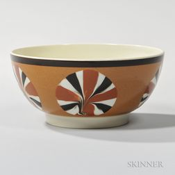 Don Carpentier Slip-decorated Pearlware Bowl