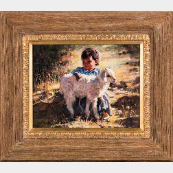 Phil Beck (Arizona, b. 1949)      Sunlit Babies