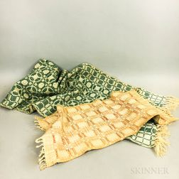 Two Marblehead School Woven Table Runners