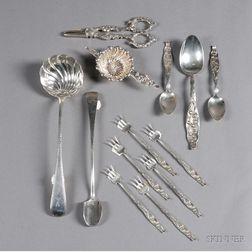 Thirteen Sterling Tablewares