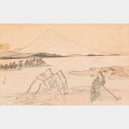 Katsushika Hokusai (1760-1849) Print