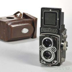 Rolleiflex 3.5B Automat TLR Camera
