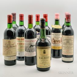 Aged Bordeaux, 10 bottles