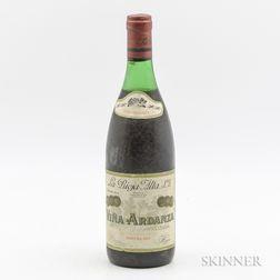 La Rioja Alta Vina Ardanza Reserva 1973, 1 bottle