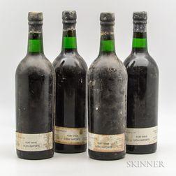 Grahams Vintage Port 1963, 4 bottles