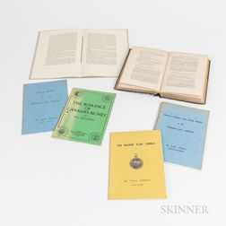 Small Group of Numismatic Reference Books and Ephemera