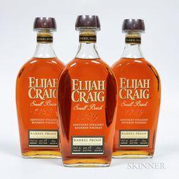 Elijah Craig Barrel Proof 12 Years Old, 3 750ml bottles