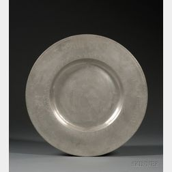 German Pewter Passover Plate