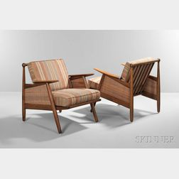 Two Poul Jeppesen Lounge Chairs
